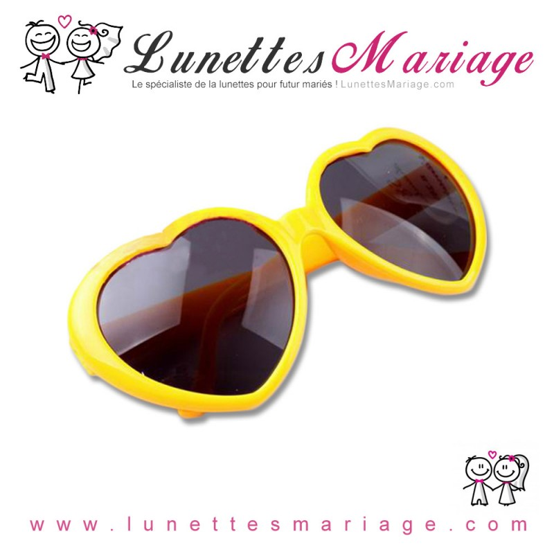 lunettes-coeur-jaune-pour-mariage